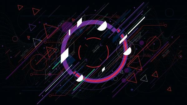 9 Tech futuristic backgrounds ((png ((ai (21 files)