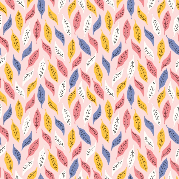 Autumn Flowers Seamless Patterns (24 files)