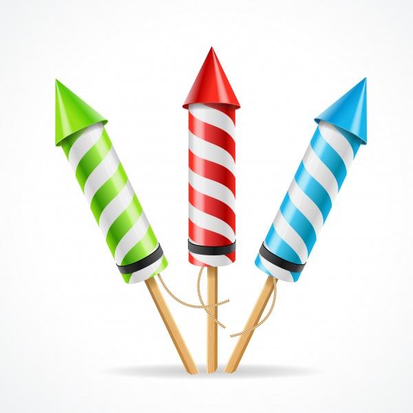 Background picture fireworks firecracker rocket ((eps - 2 (26 files)