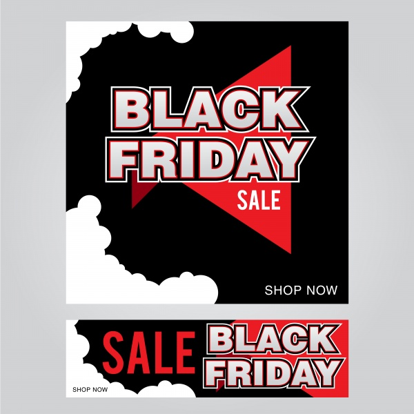 Black friday poster vector design template ((eps (30 files)