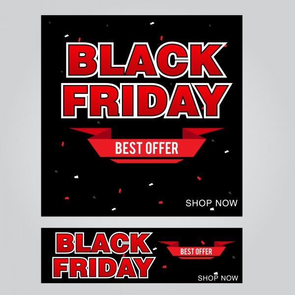 Black friday poster vector design template ((eps (30 files)
