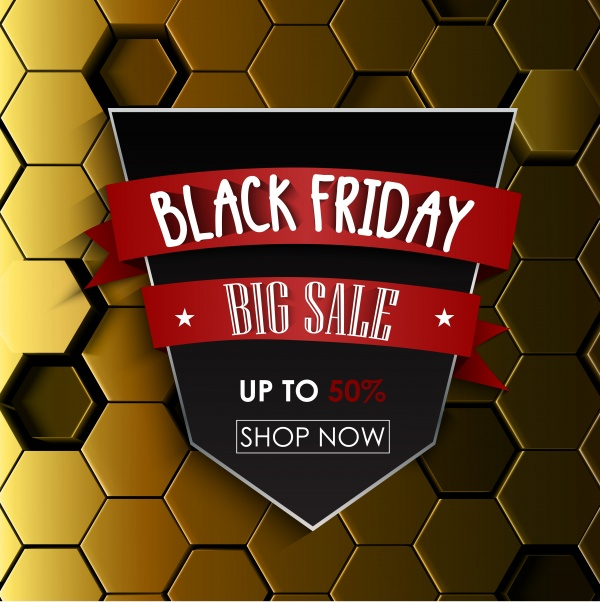 Black Friday Sale vector background, shopping offer and promotion ((eps (30 files)