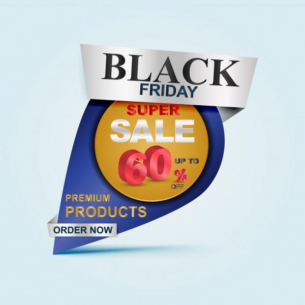 Black friday Sale vector banner, big sale template design ((eps (34 files)