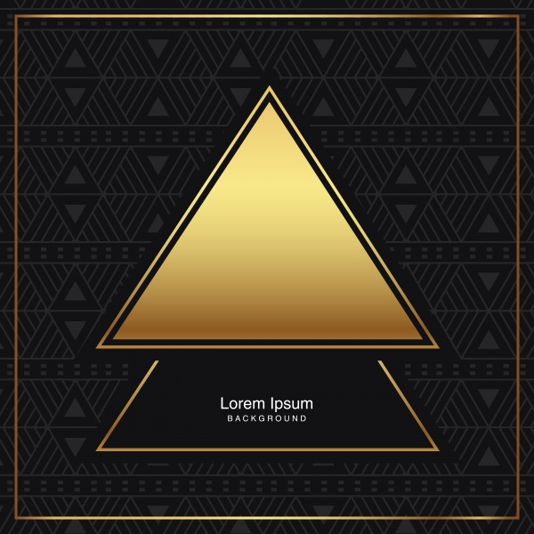 Black vector backgrounds with gold elements ((eps (38 files)
