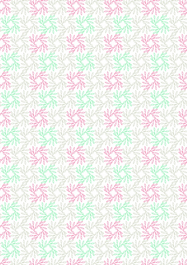 Collection Pia Vegetal pattern ((eps (8 files)