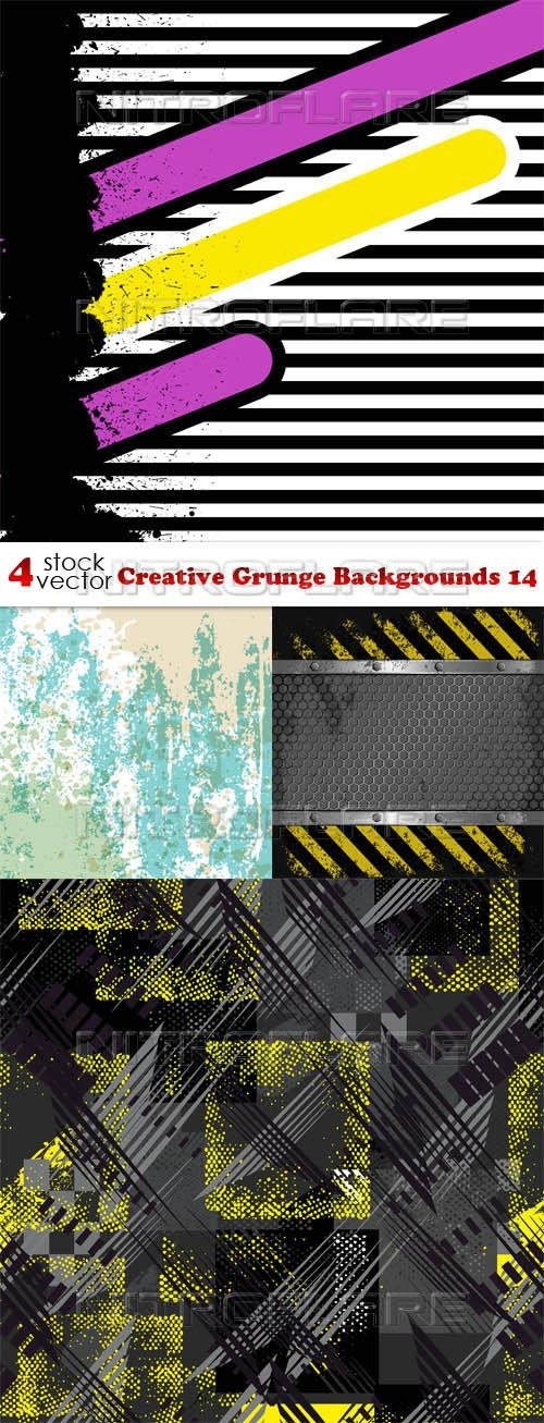 Creative Grunge Backgrounds 14 ((aitff (8 files)