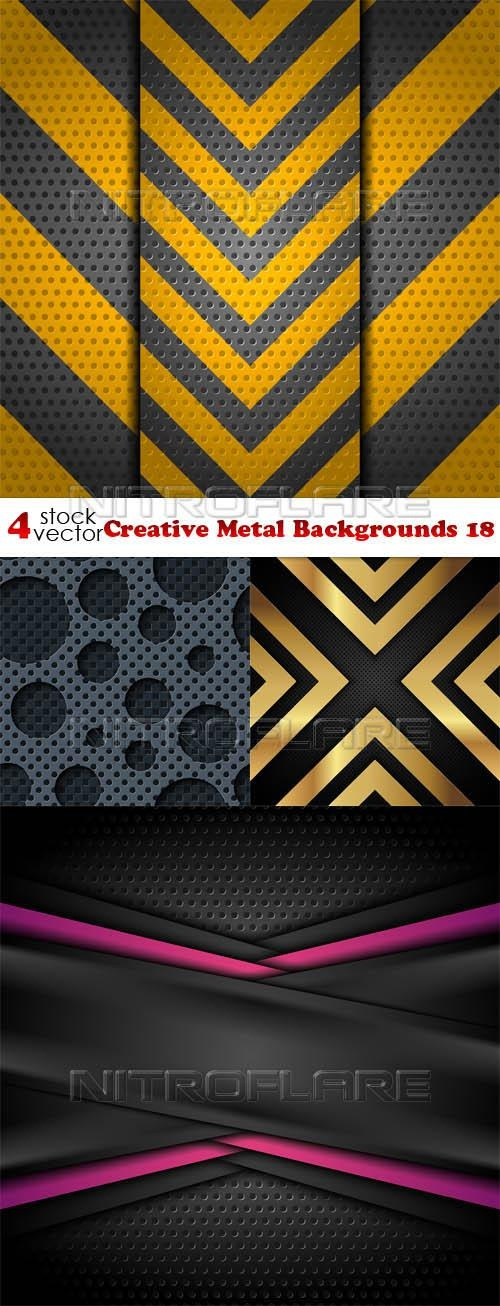 Creative Metal Backgrounds 18 ((aitff (9 files)
