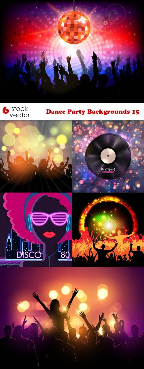 Dance Party Backgrounds 15 ((aitff (15 files)