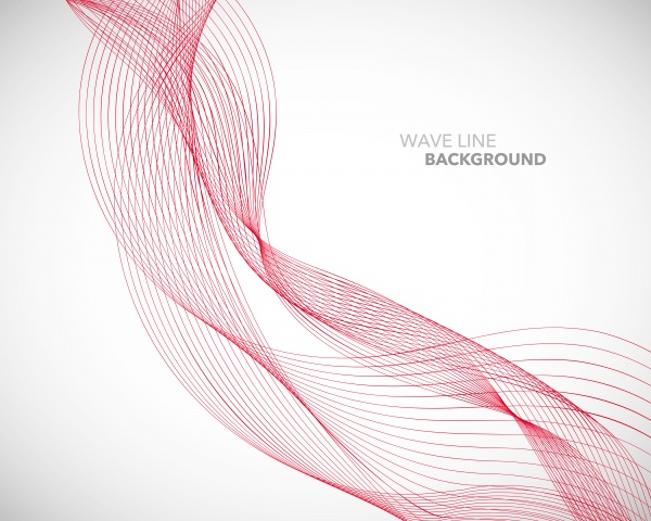 Elegant vector abstract wave line futuristic style background template ((eps (30 files)