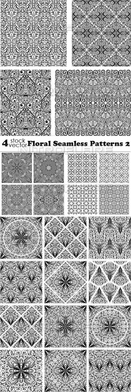 Floral Seamless Patterns 2 ((aitff (8 files)