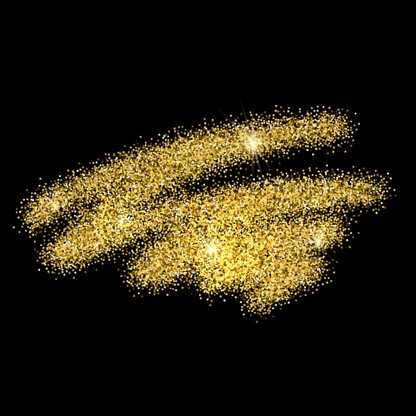 Gold glitter background ((eps (32 files)