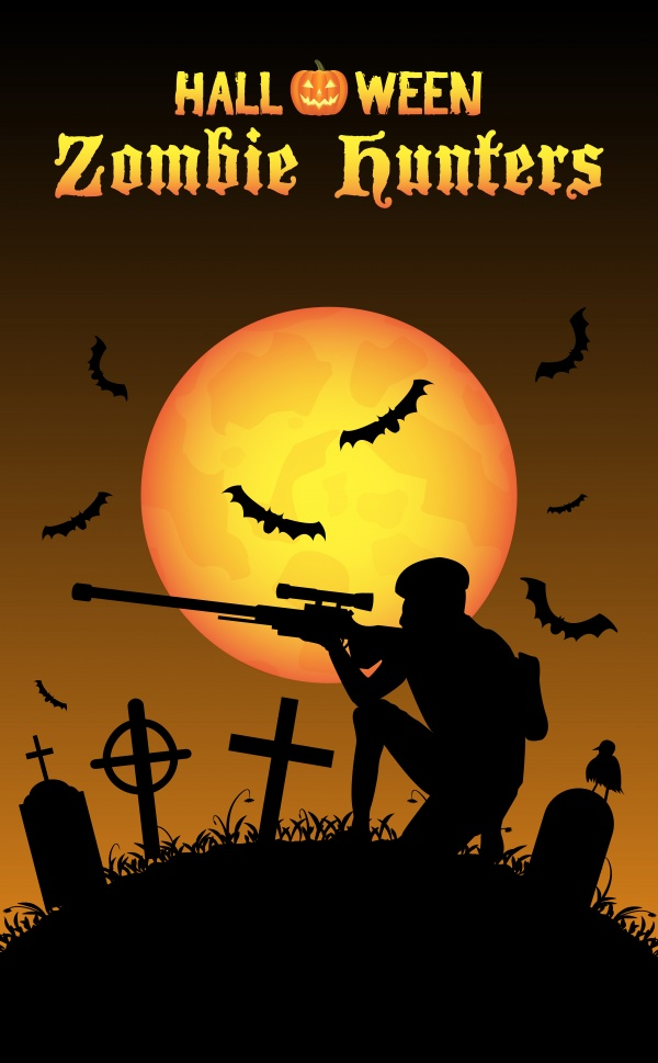 Halloween zombie hunter ((eps (50 files)