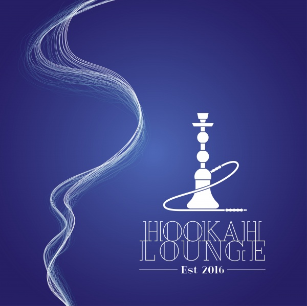 Hookah vector logo ((eps (28 files)