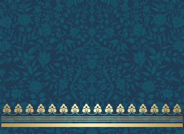 Indian vector texture with beautiful ornaments ((ai (30 files)