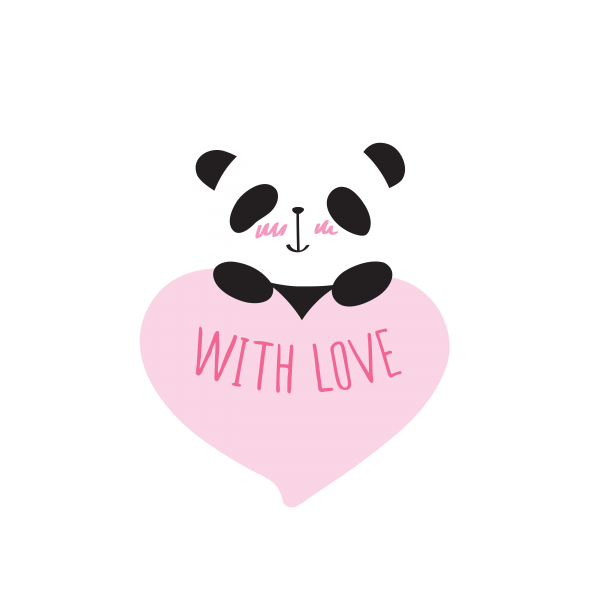 Little cute pandas ((png ((eps (66 files)