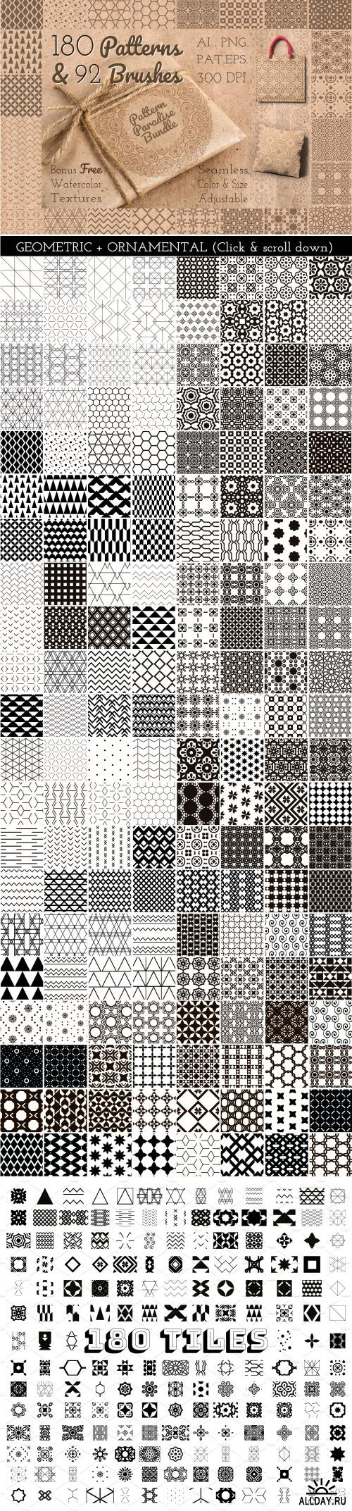 Pattern Paradise Bundle ((eps ((png (385 files)