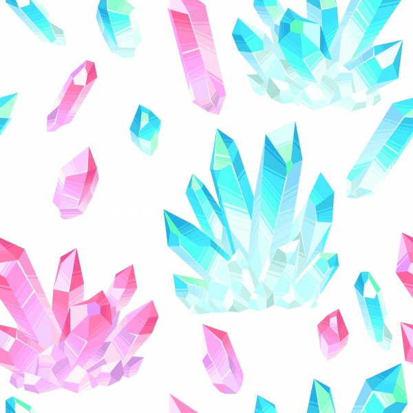 Patterns with Crystals ((ai ((jpg (10 files)