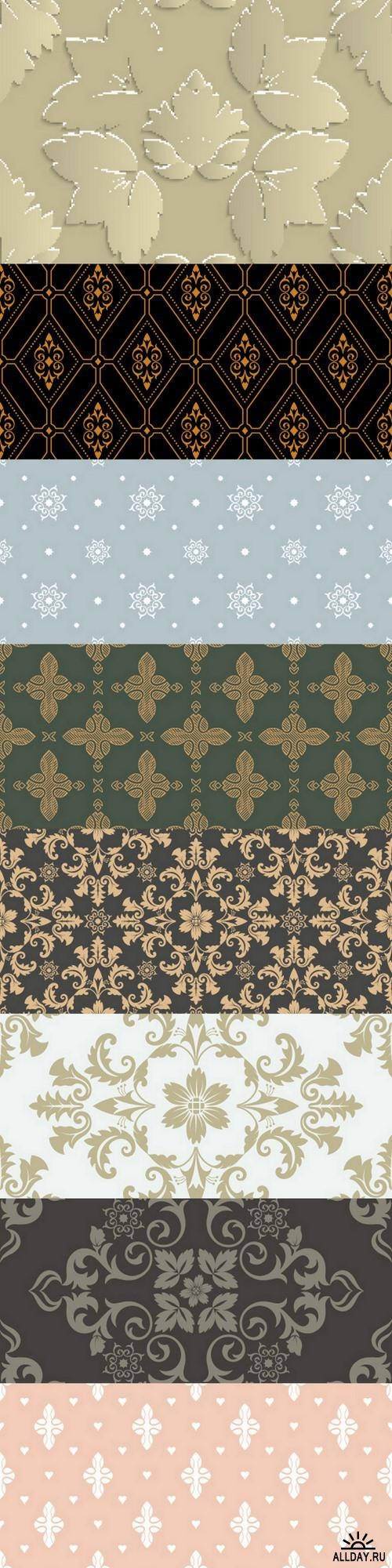 Seamless pattern ((eps (9 files)