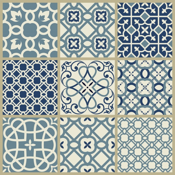 Set of beautiful decorative ornaments and patterns in a vector ((eps (32 files)