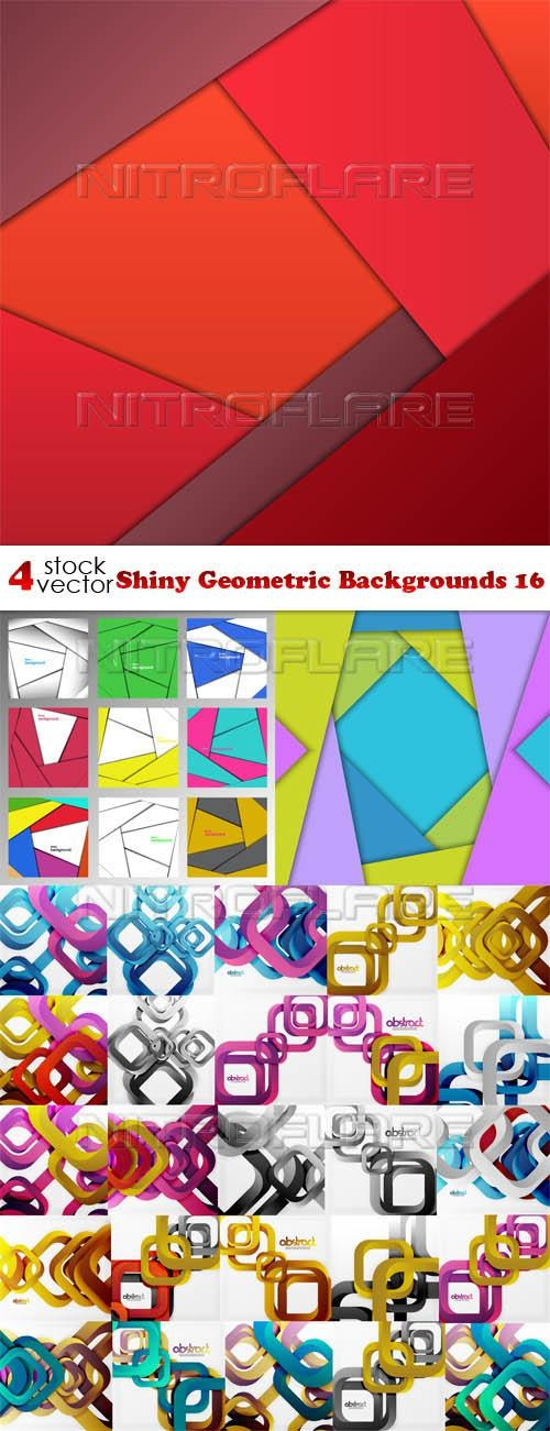 Shiny Geometric Backgrounds 16 ((aitff (8 files)