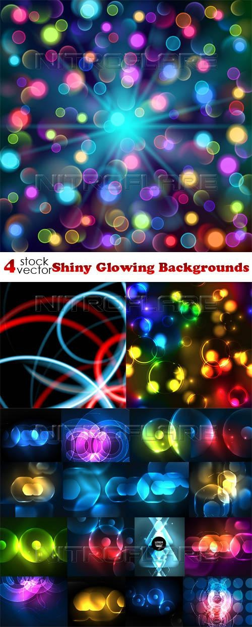 Shiny Glowing Backgrounds ((aitff (8 files)
