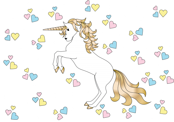 Unicorn Set ((png ((eps (71 files)
