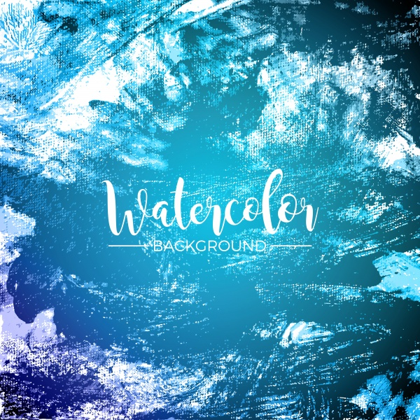 Watercolor vector background ((eps (16 files)