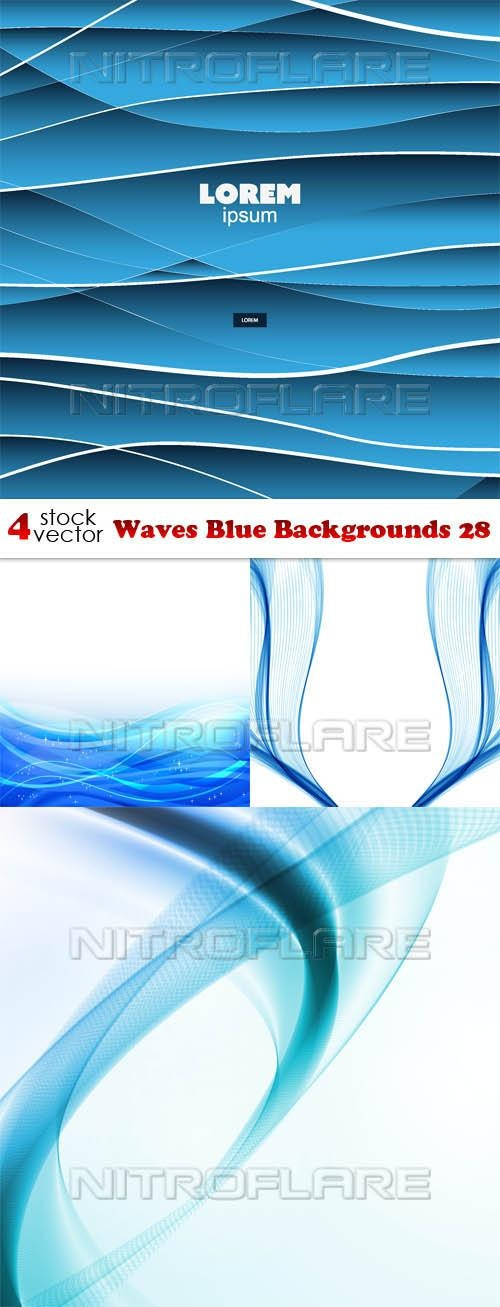 Waves Blue Backgrounds 28 ((aitff (9 files)