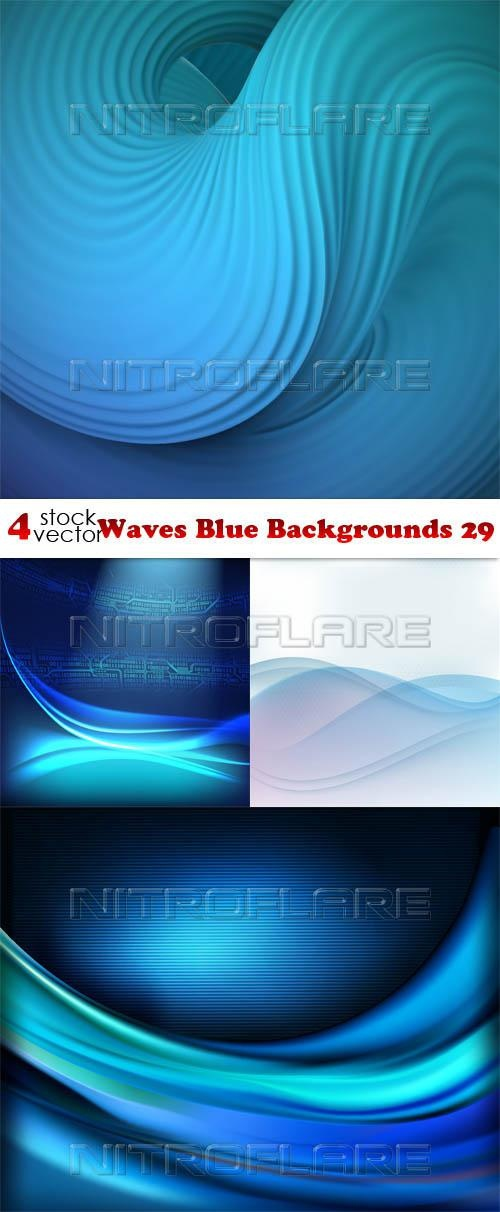 Waves Blue Backgrounds 29 ((aitff (8 files)