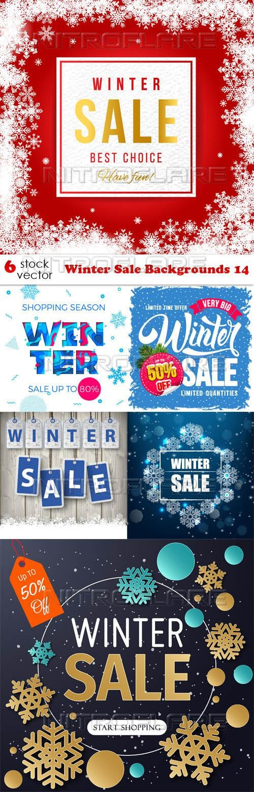 Winter Sale Backgrounds 14 ((aitff (9 files)