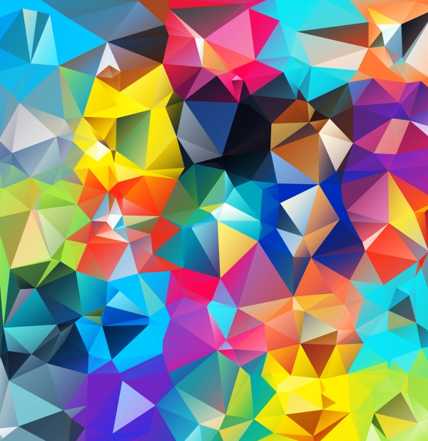 Abstract geometric background ((eps (24 files)