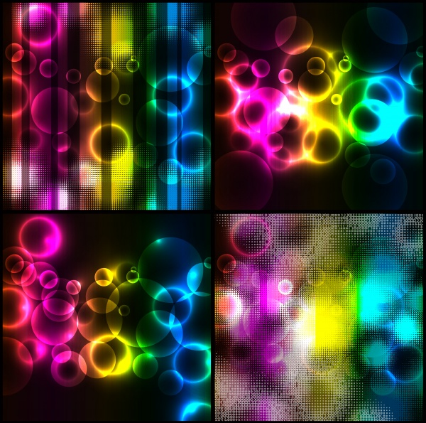 Creative Metal Backgrounds 17 ((eps (12 files)