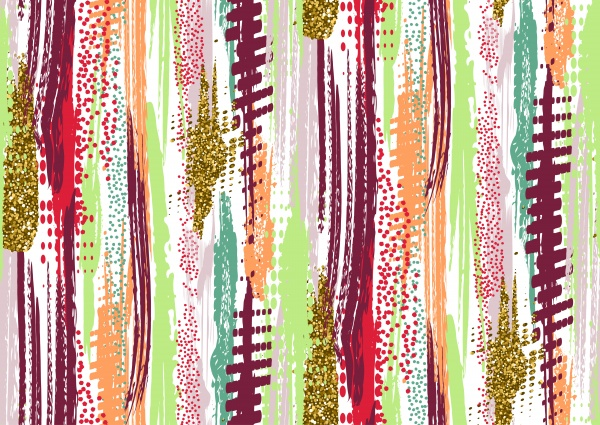 33 Seamless Brush Strokes Patterns ((eps (39 files)