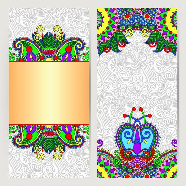 banner flyer template ethnicity calligraphic drawing decoration ((eps (24 files)