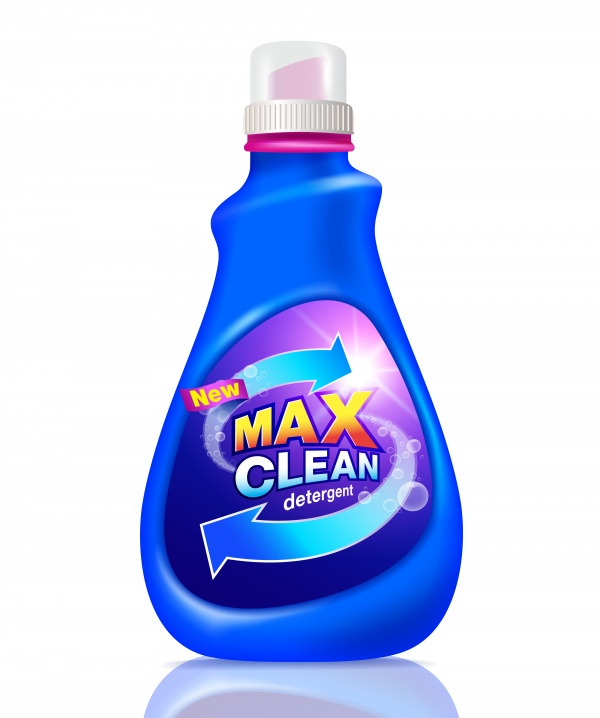 Detergent cleaning packaging vector design ((eps - 2 (12 files)