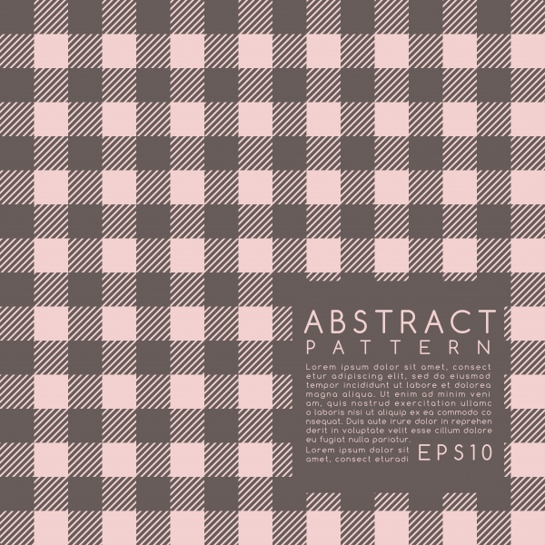 Fabric Pattern  Plaid 2 ((eps (50 files)