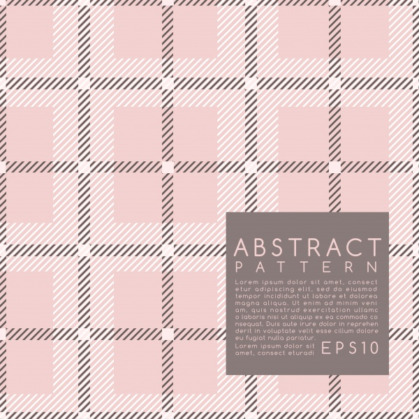 Fabric Pattern  Plaid 3 ((eps (50 files)