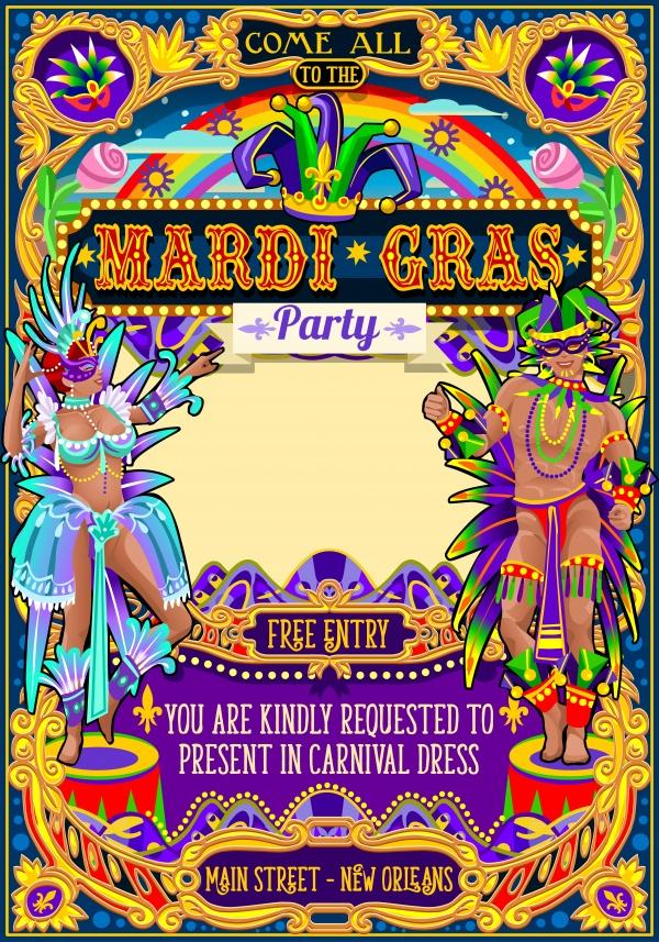 Festival poster illustration ((eps (14 files)