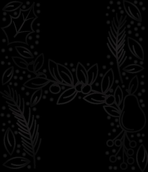 Floral Christmas Bundle ((eps ((png - 2 (221 files)