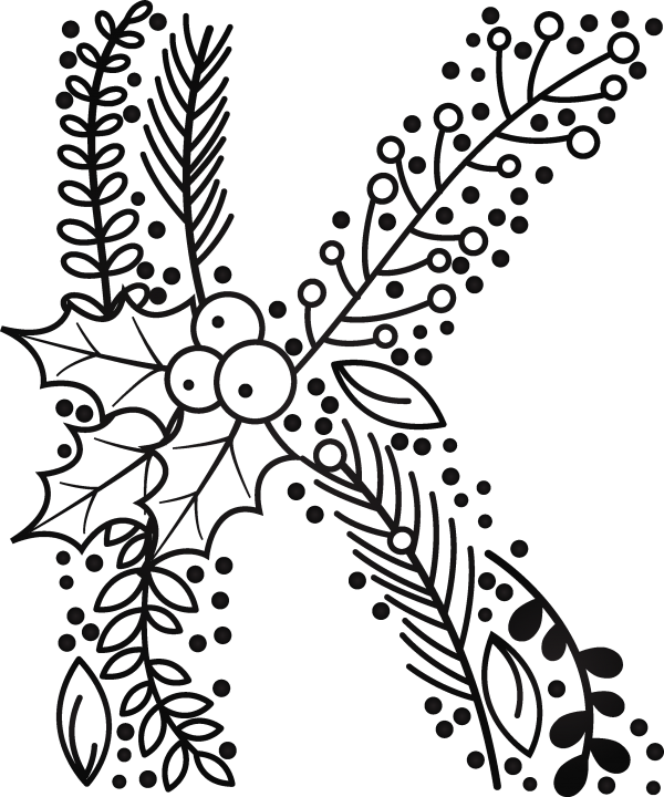 Floral Christmas Bundle ((eps ((png - 2 (221 files)