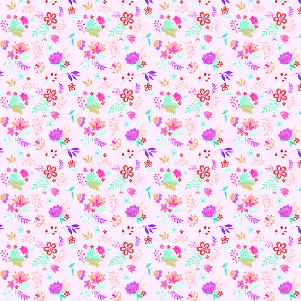 Handpainted Floral Clipart Set Anita ((eps ((png ((ai - 3 (71 files)