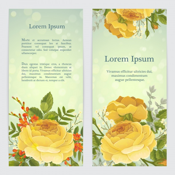 Vector backgrounds with roses for invitations ((eps (14 files)