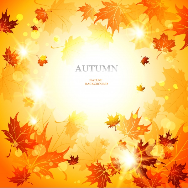 Autumn background is a picture poster flyer banner leaf tree 2 ((eps - 2 (28 files)