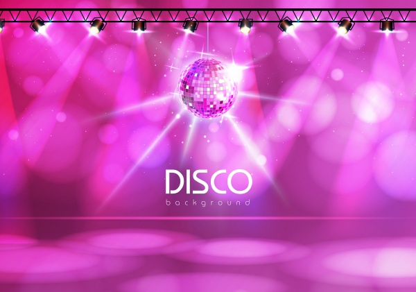 Disco ball background ((eps - 2 (28 files)